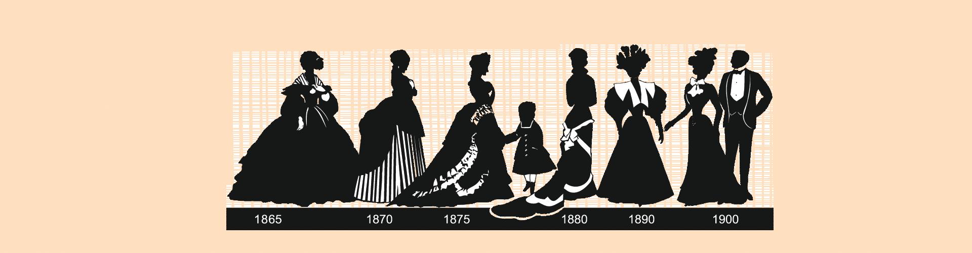 1865 to 1900
