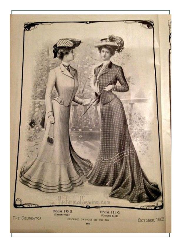Bailey Phillips, 1902 Secretary Fashion & Women History
